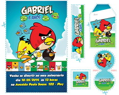 Kit Angry Birds - ab01