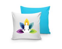 Almofada Personalizada Yoga 30x30