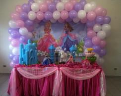 Decor Barbie Castelo Diamante - Aluguel