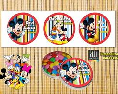 Adesivo personalizado Mickey