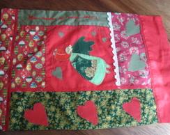 Capa para almofada Anjo de natal