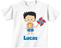 Camiseta - Galinha Pintadinha - Menino