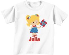 Camiseta - Galinha Pintadinha - Menina