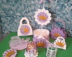 Decore sua festa!!! Princesa Sofia