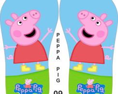 Chinelos Personalizados Peppa Pig