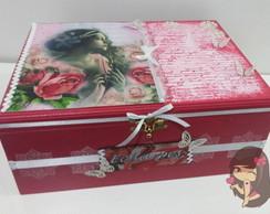 Caixa organizadora para echarpes
