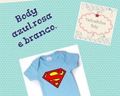 Body Personalizado Super homem