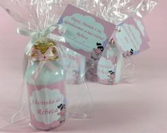 Mini Hidratante boneca rosa e lil�s