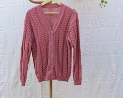 Blusa de Tric� Ros�