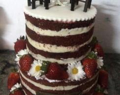 Naked cake boteco