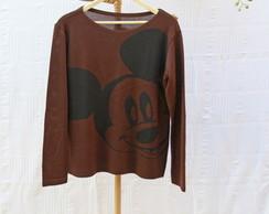 Blusa de Tric� da Mickey Mouse