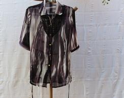 Camisa Feminina Manchada