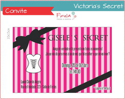 Convite Digital Victoria's Secret