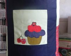 Projeto Capa para gal�o Cupcake