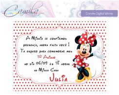 Convite Digital Minnie
