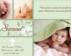 Convite Virtual Batizado - Samuel