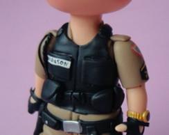 Policial Para Topo De Bolo