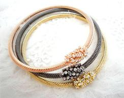 Conjunto de pulseiras Italianas