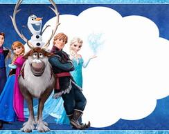 """Quadro M�gico Personalizado - """"Frozen"""""""