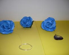 Pingente de cortina - Azul