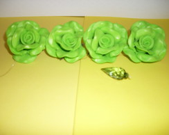 Pingente de cortina P - Verde