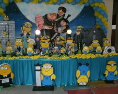 decora��o de festa infantil Minions