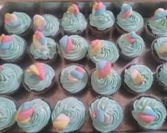 Cupcake: Azul beb�