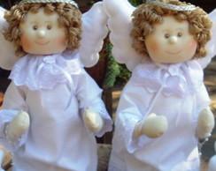 2 Anjos da guarda para batizado