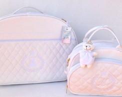 Bolsas em Matelass� Branco