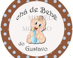 Ch� de beb� - Latinhas personalizadas
