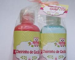 Kit Creme Hidratante+sab.L�quido 60ml