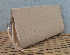 Clutch Mini Po�s Douradas
