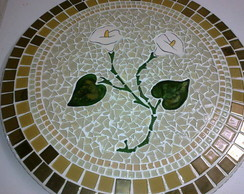 Prato Girat�rio Mosaico