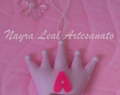 Chaveiro coroa de princesa