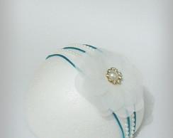 PRINCESA SOFIA azul 4MM dourado/p�rola