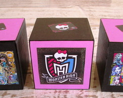 Cubos Monster High para mesa de festa