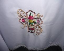 Toalha de Altar Rosas