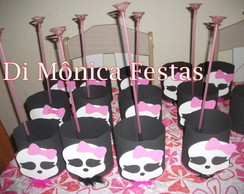 Centro de mesa Monster High.