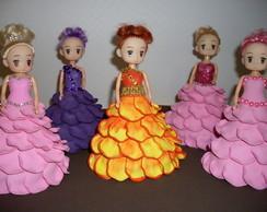 Mini Boneca Com Vestido De Eva - Rosa 2