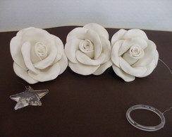 Pingente de cortina - Branco
