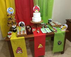 Kit decora��o Angry Birds