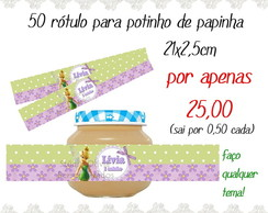 50 R�TULOS PARA POTINHO DE PAPINHA