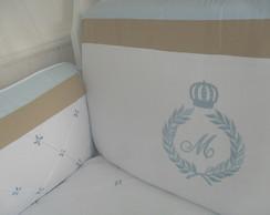 Kit de Ber�o Azul e cac 8p�s