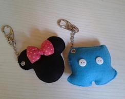 Chaveiros :: Mickey & Minnie