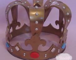 Coroa Topo de Bolo ou centro de mesa
