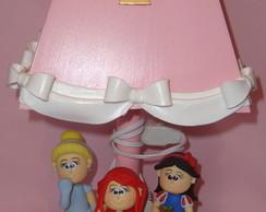 Abajur Princesas Disney