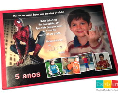 Convite Infantil 15x21