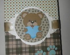 Caixa bis maternidade ursinho Teddy