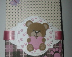 Caixa bis Ursinha feliz