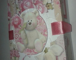 Caixa bis ursinha charmosa